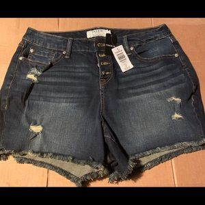 Torrid women denim shorts